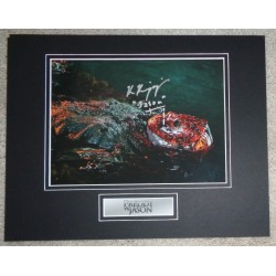 Ken Kirzinger Jason v Freddy signed authentic signature autograph photo COA