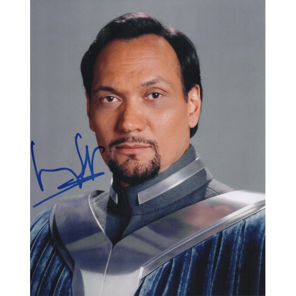 Jimmy Smits Star Wars genuine signed authentic signature photo COA RACC