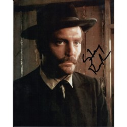 Stacey Keach signature genuine signed authentic signature photo COA
