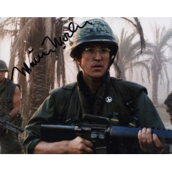 Mathew Modine Full Metal Jacket genuine signed authentic signature photo COA