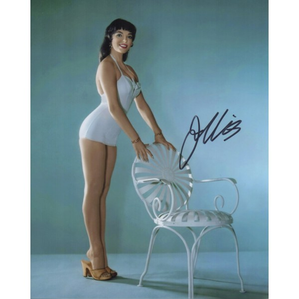 Joan Collins sexy authenticgenuine signed autograph photo 7