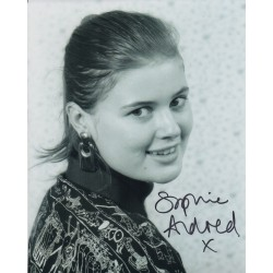 Sophie Aldred Doctor Who genuine signed authentic signature photo COA AFTAL