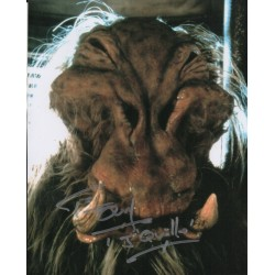 Star Wars Tim Dry J'Quille genuine authentic autograph signed photo.