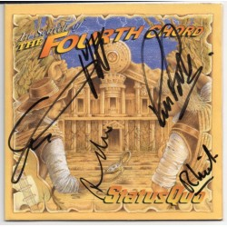 Status Quo Rossi Rick Parfitt authentic signed genuine autograph CD album
