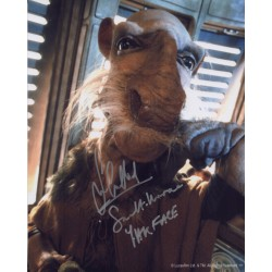 Tim Dry Star Wars authentic genuine signed autograph photo COA UACC