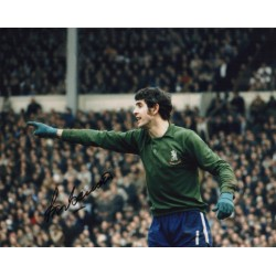 Peter Bonetti Chelsea genuine authentic signed autograph photo.