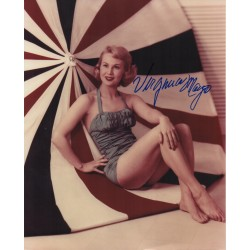 Virginia Mayo signed original genuine autograph authentic photo UACC