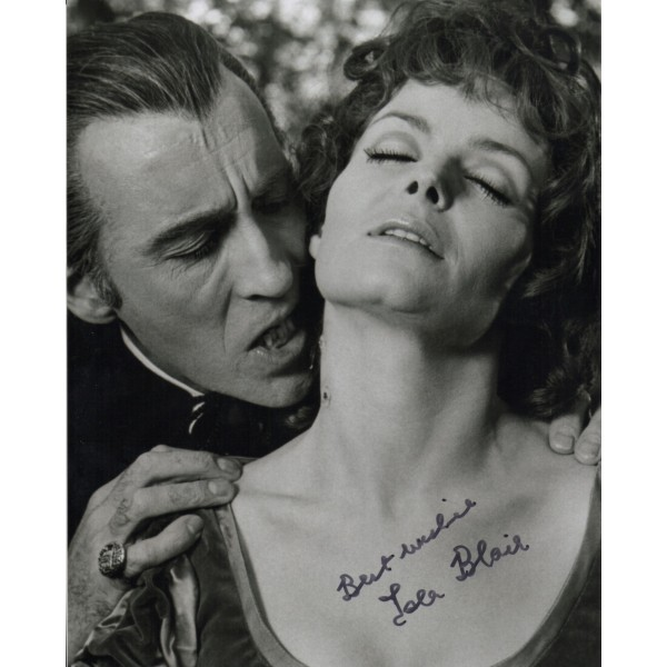 Isla Blair Dracula Horror genuine signed autograph photo COA RACC