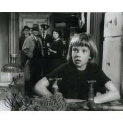 Hayley Mills authentic signed genuine signature photo COA UACC