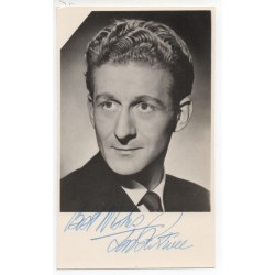 Jon Pertwee Dr Who etc genuine authentic autograph signed photo COA RACC