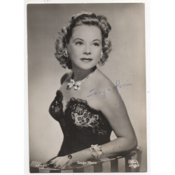 Sonje Henie genuine authentic autograph signed photo COA UACC