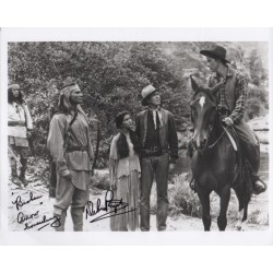 Debra Paget Broken Arrow genuine signed authentic signature photo COA AFTAL