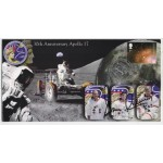 Apollo 17 Gene Cernan signed authentic signature autograph FDC COA