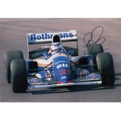 Nigel Mansell Williams F1 signed authentic autograph photo COA UACC