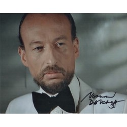 James Bond Vernon Dobtcheff genuine authentic autograph signed photo