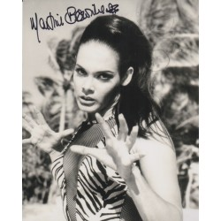 James Bond Martine Beswick signed authentic signature autograph photo COA UACC
