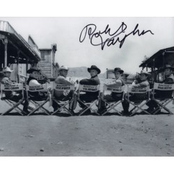 Robert Vaughn Magnificent Seven genuine authentic autograph signed photo