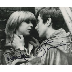 Quadrophenia alley scene Phil Daniels Leslie Ash authentic genuine signed