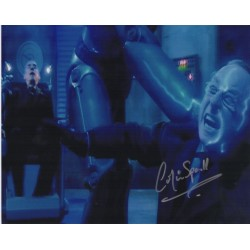 Colin Spall Dr Doctor Who authentic genuine signed image COA UACC