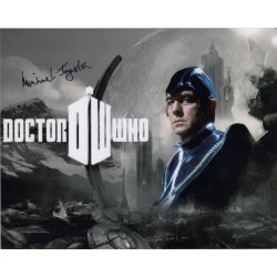 Michael Jayston Doctor Who genuine authentic signed autograph Photo COA