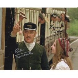 Bernard Cribbins Sally Thomsett Railway Children genuine signed photo