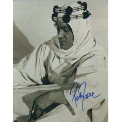 Peter O'toole Lawrence Arabia  signed genuine signature photo