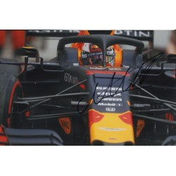 Max Verstappen Red Bull F1 signed genuine signature authentic photo COA