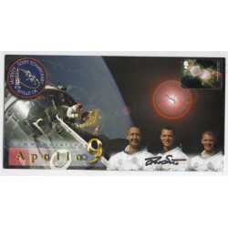 Dave Scott Apollo moonwalker genuine signed authentic signature FDC COA