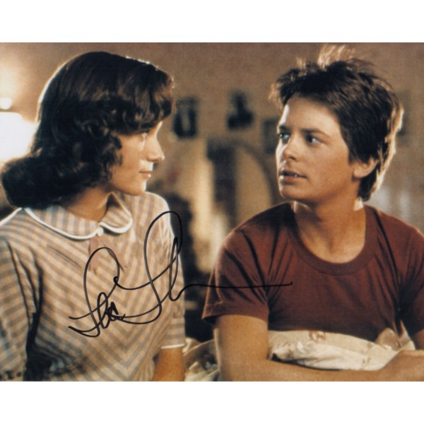 Lea Thompson Back to the Future genuine authentic signed autograph photo 2