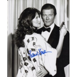 Maud Adams James Bond genuine authentic original signed photo AFTAL