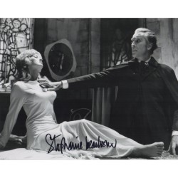 Stephanie Beecham Dracula genuine signed authentic signature photo COA UACC