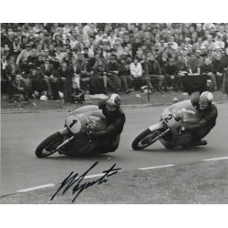 Giacomo Agostini genuine signed authentic autograph photo COA RACC