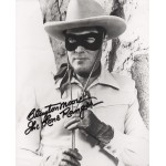 Clayton Moore Lone Ranger genuine signed autograph photo COA
