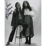 Dana Gillespie authentic original signed photo David Bowie COA AFTAL
