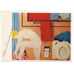 Tom Wesselmann authentic original signed colour postcard COA AFTAL