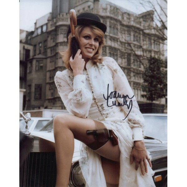 Joanna Lumley Avengers etc signed genuine authentic autograph photo COA