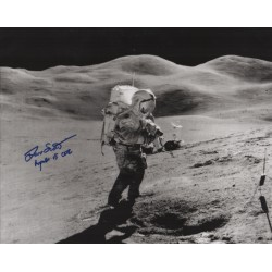 Dave Scott Apollo moonwalker genuine signed authentic signature photo COA