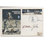 Apollo 15 Jim Irwin Al Worden autograph authentic genuine signed cover COA