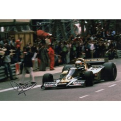 Jody Scheckter F1 Wolf genuine authentic autograph signed photo COA
