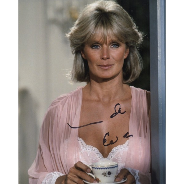 Linda Evans Dynasty genuine authentic signed autograph photo COA