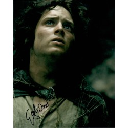 lord Rings Elija Wood genuine authentic autograph signed photo