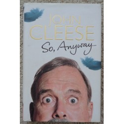 "John Cleese ""So Anyway"" genuine authentic autograph signed book"