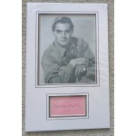 Tyrone Power genuine authentic signature autograph display