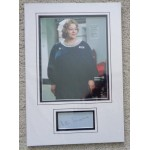 Hattie Jacques Carry On signed genuine signature autograph display COA