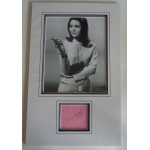 Diana Rigg Avengers genuine authentic signature autograph display