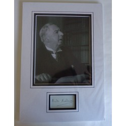Miles Malleson genuine authentic signature autograph display