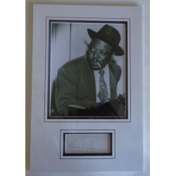 Count Basie authentic genuine signature signed autograph display photo