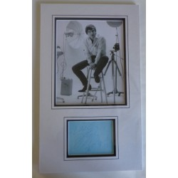 David Bailey authentic genuine signature signed autograph display photo