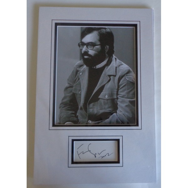 Francis Ford Coppola signed authentic genuine signature autograph display
