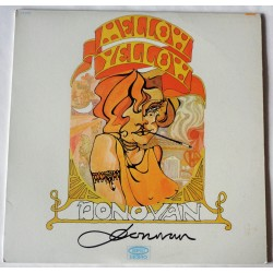 Donovan Mellow Yellow genuine authentic autograph signature signed album